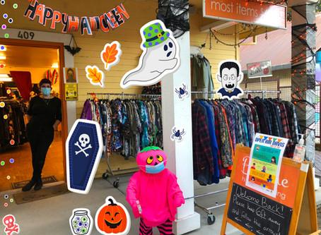 Get Your Halloween Getup at Boheme