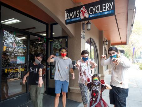 Davis Cyclery Sponsors The Zombie Bike Ride