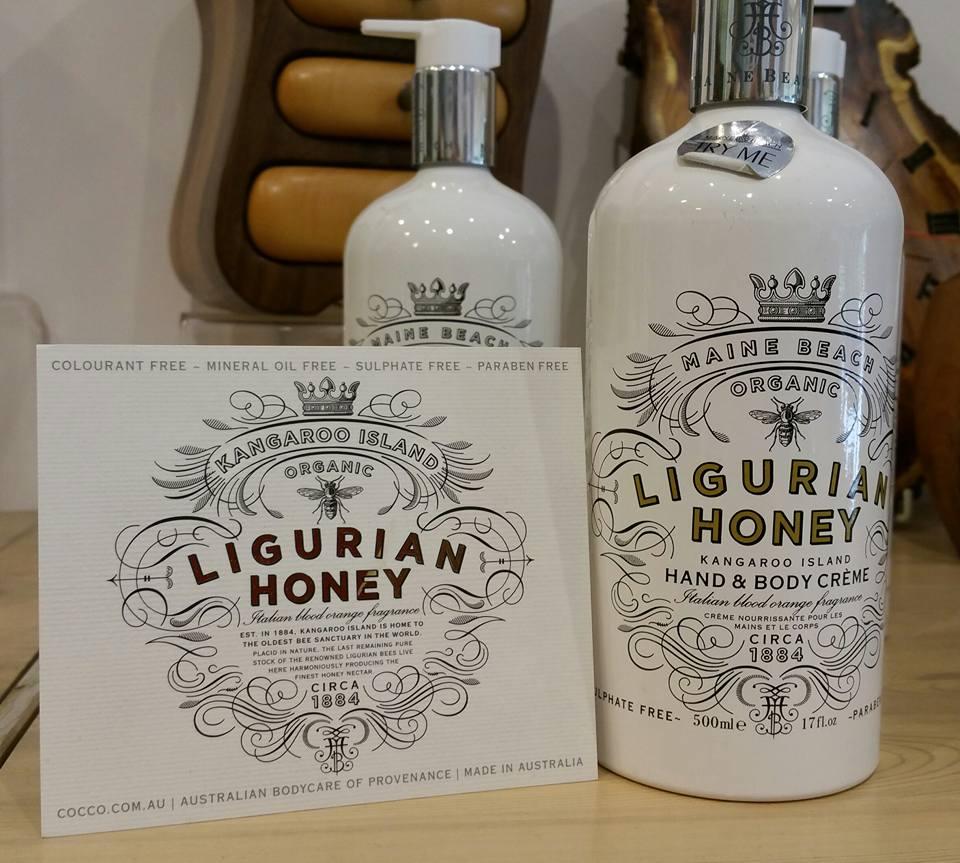 Maine Beach Ligurian Honey Product