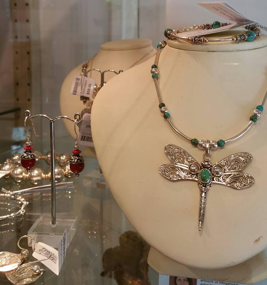 Stirling Silver Dragonfly Betrix Mol