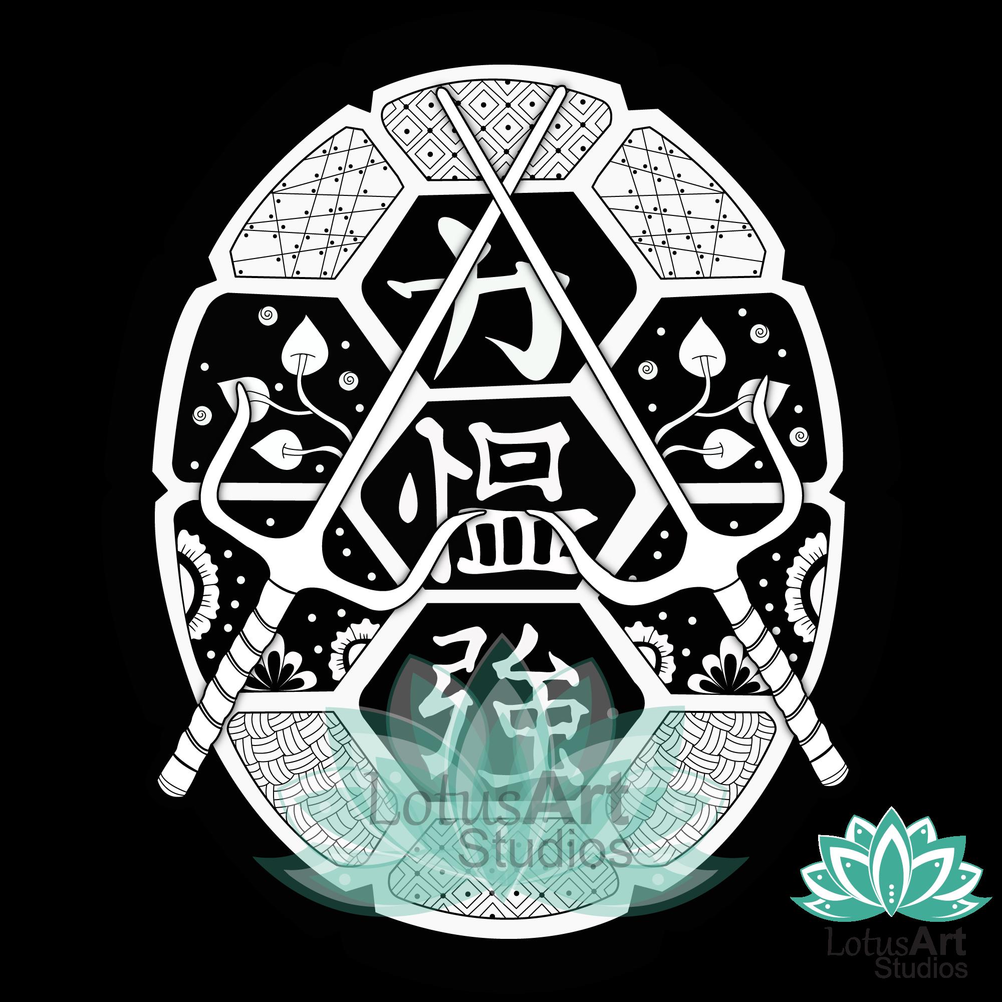 TMNT Shell Mandala