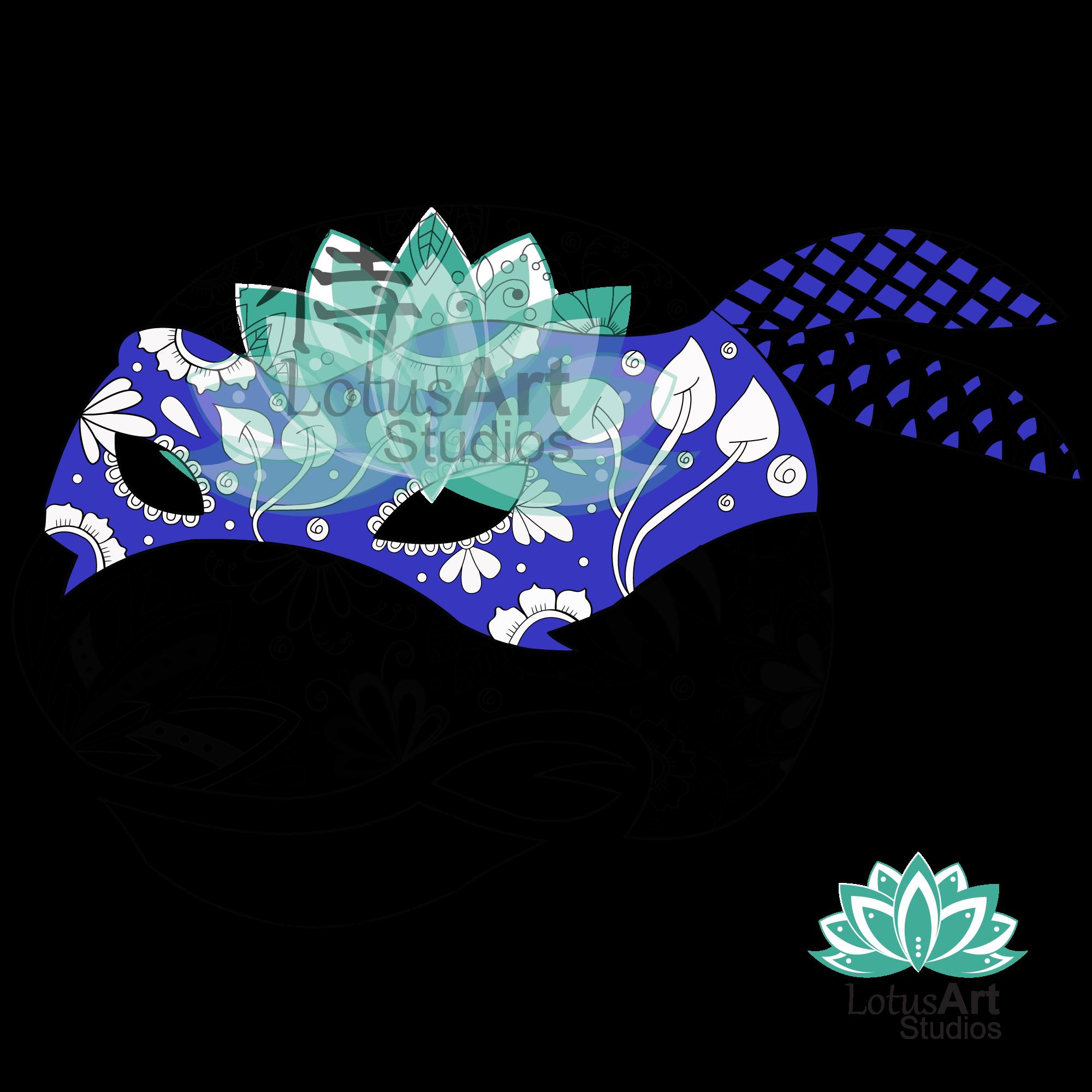 TMNT Leonardo Mandala Blue