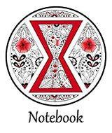 black widow mandala notebook.JPG