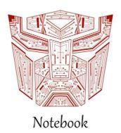Autobot Tech Red notebook.JPG