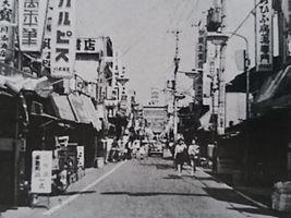 昭和45年 近大前商店街