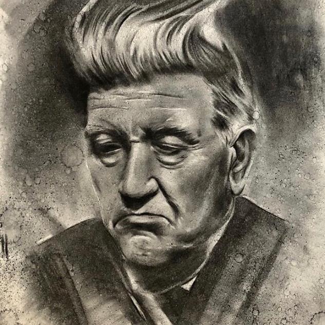 David Lynch - Charcoal