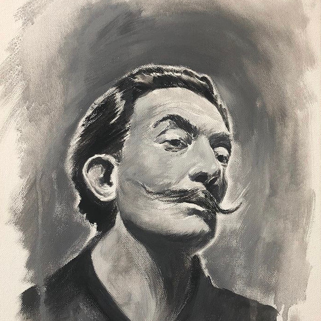 Salvador Dali - Gouache