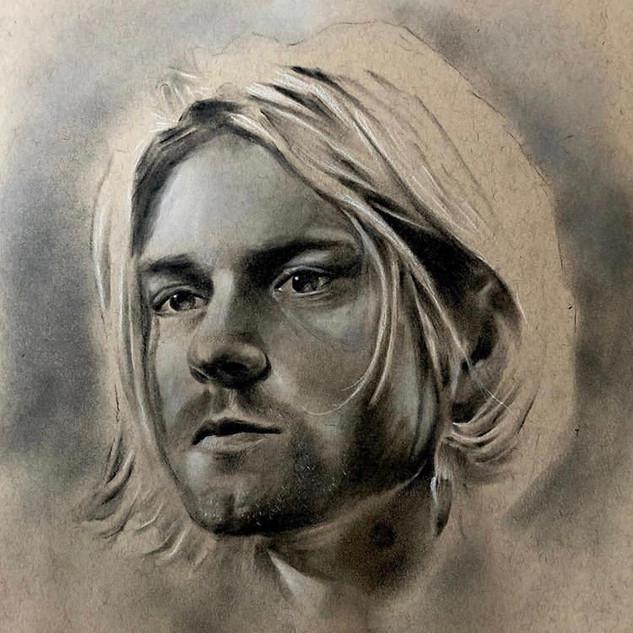 Kurt Cobain - Charcoal