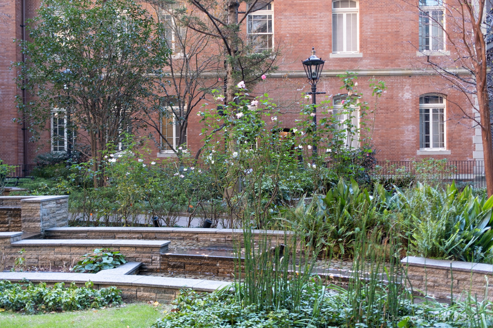 バラの中庭が美しい三菱一号館美術館