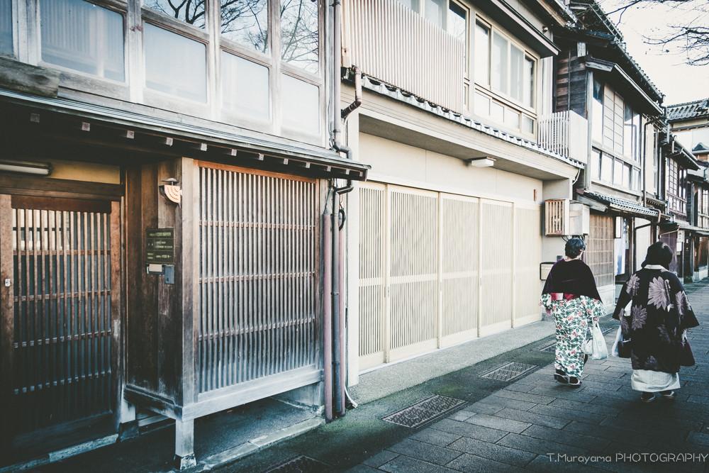 お正月の時期、桜の季節が美しい街です。