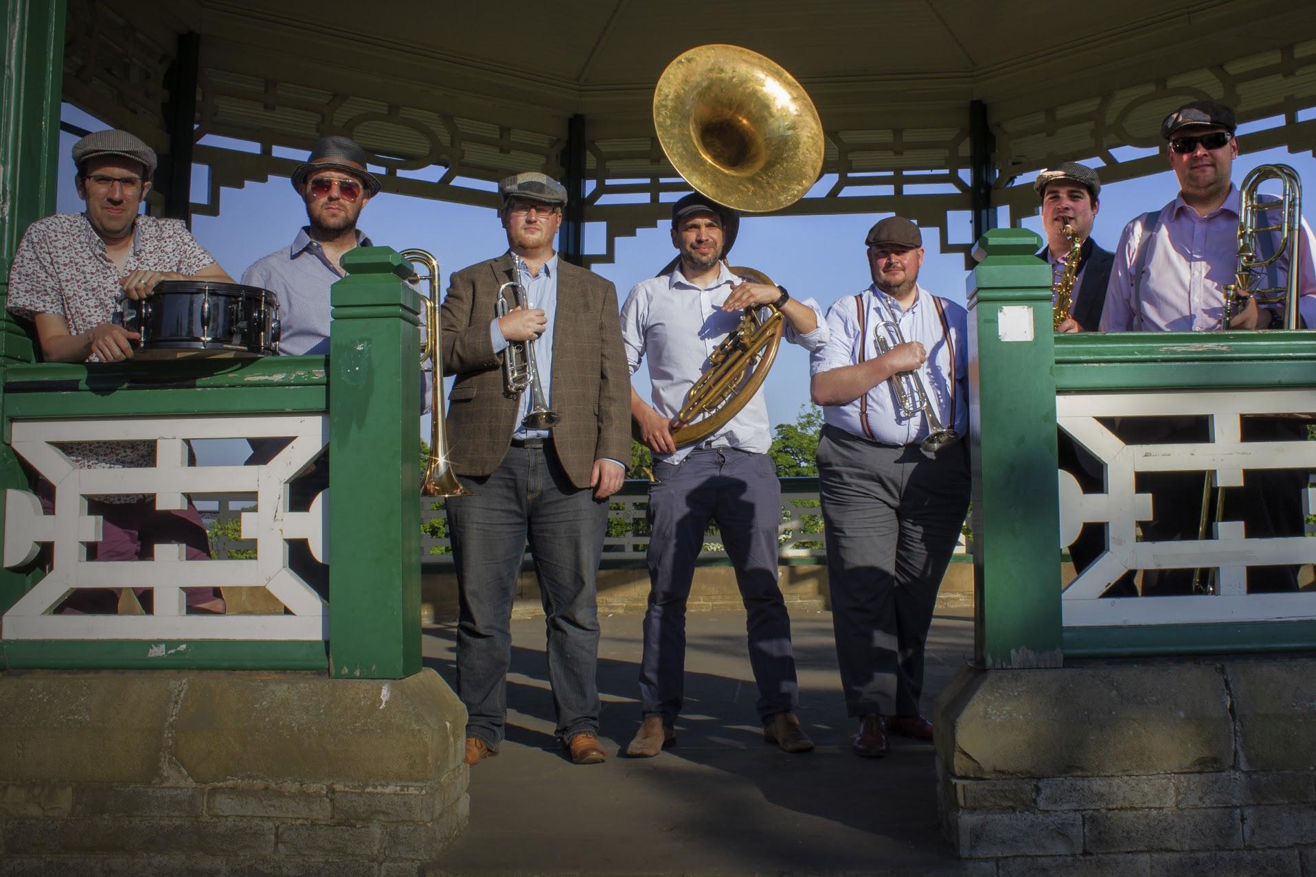The Baker Boys Vintage Wedding Band