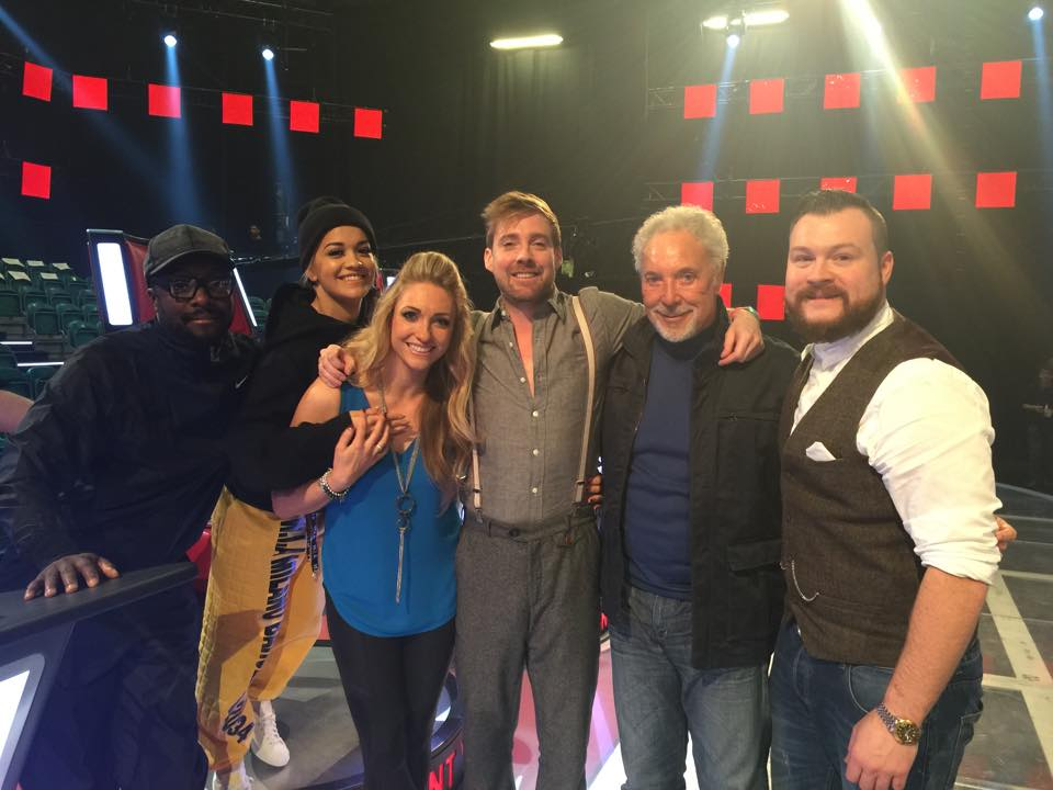The Voice Judges Rehearsals
