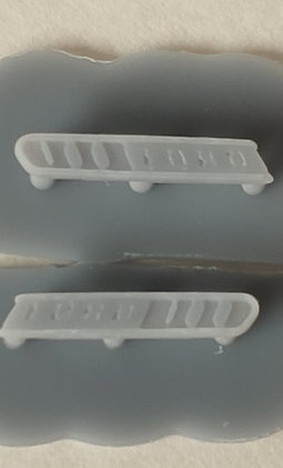 1967 Ford F-100 Hood Badges