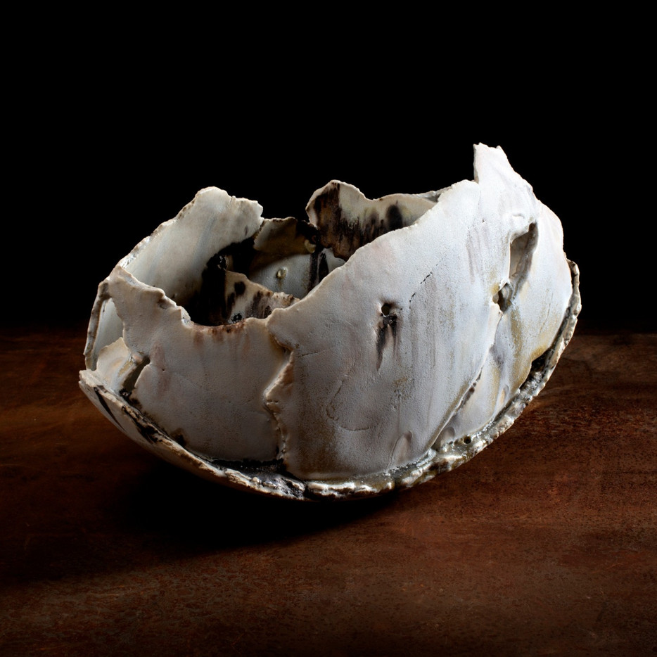 ceramic sculpture, 'medium fragmented vessel'