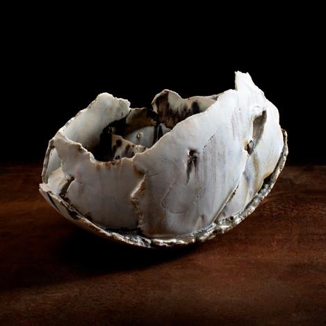 ceramic sculpture, 'medium fragmented vessel'