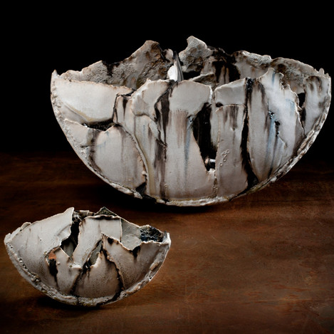 large and small fragmented vessels