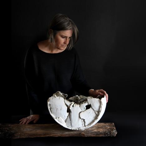 kate windibank, firedthings, ceramic sculptural vessel
