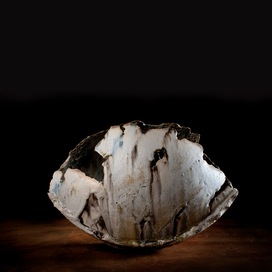large fragmented vessel