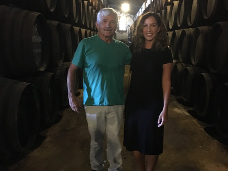 Sherry tasting in Jerez, Spain - the real 'Cask of the Amontillado'
