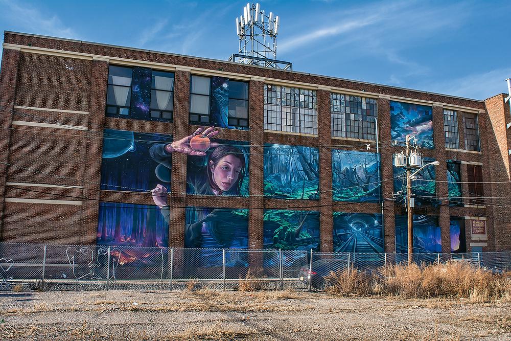 Mural by Distoart