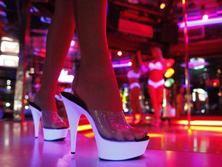 """Should I take my client to a strip club?"""