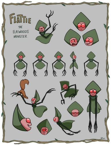 Flattie Character Page
