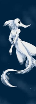 Undead Siren - Long-nose Chimaera