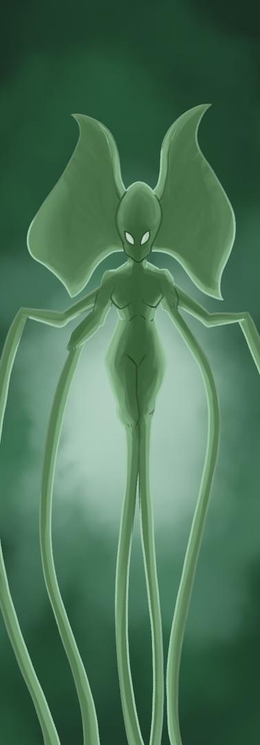 Undead Siren - Magnapinna Squid