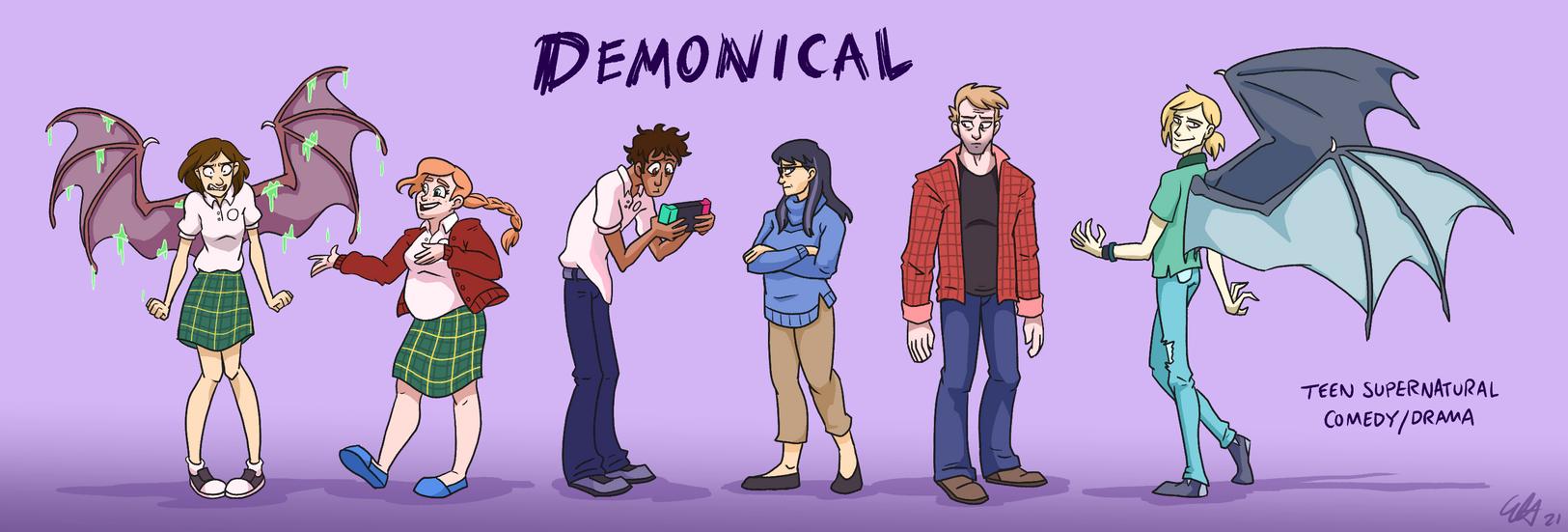 Demonical - Character Lineup