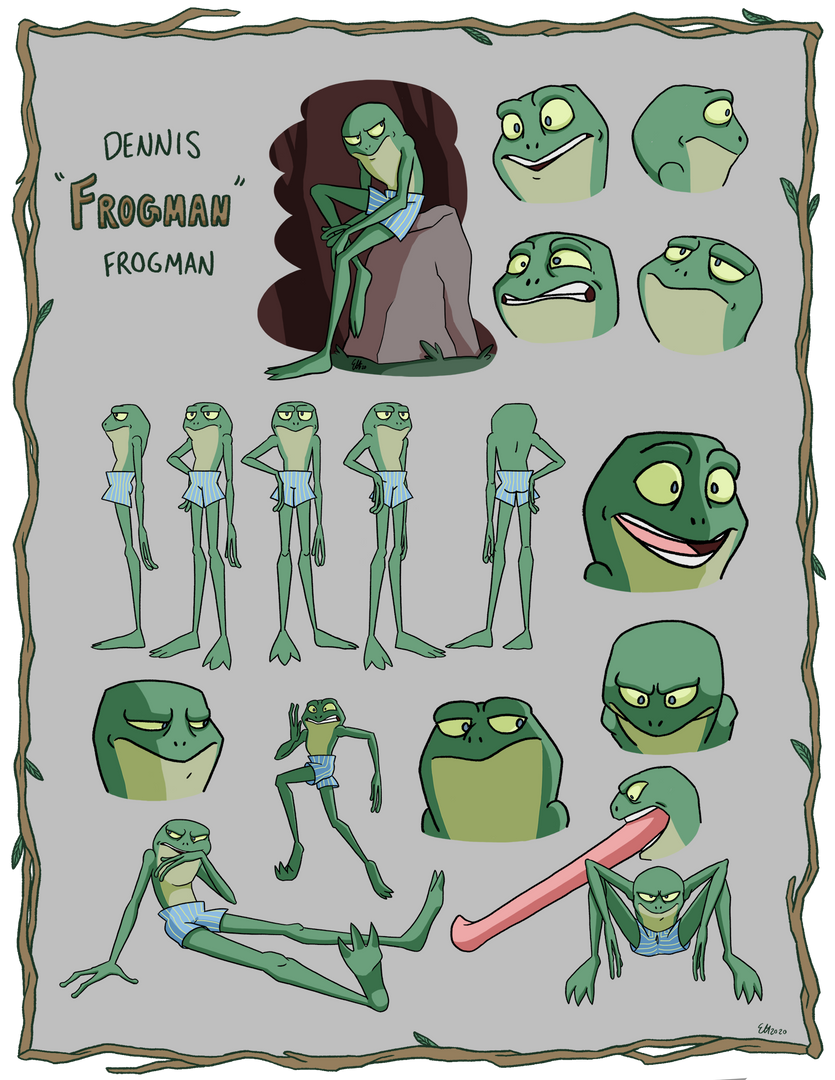 Frogman Character Page