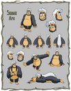 Skunk Ape Character Page