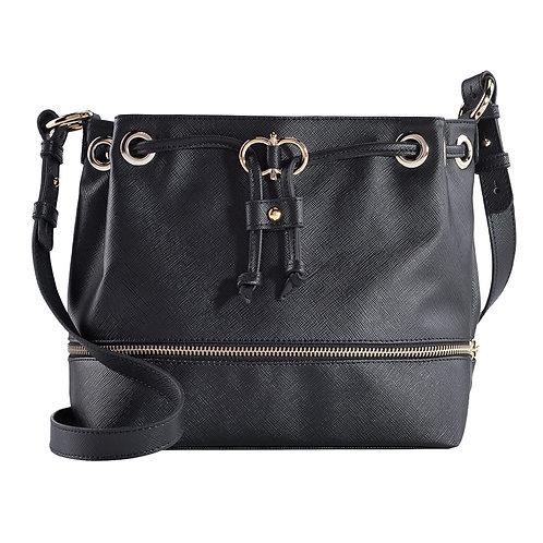 "Bucket Bag ""tulipa"" black"