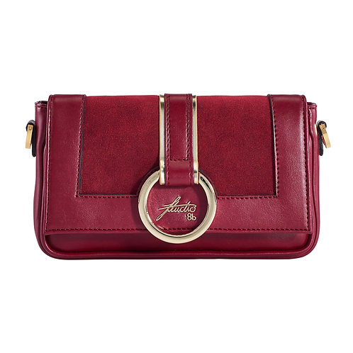 """Clutch """"ixia"""" red ring"""