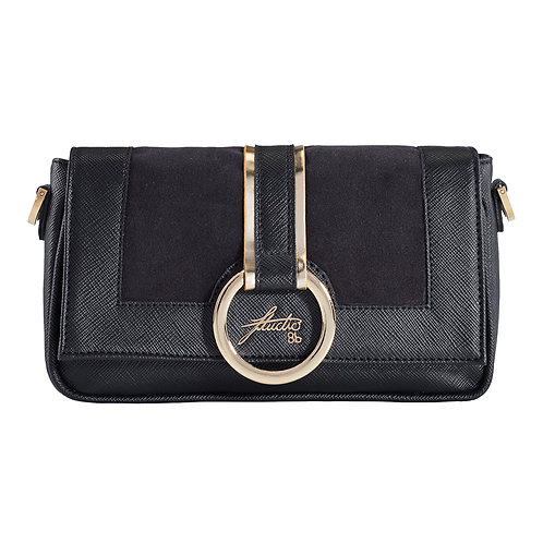"Clutch ""ixia"" black ring"