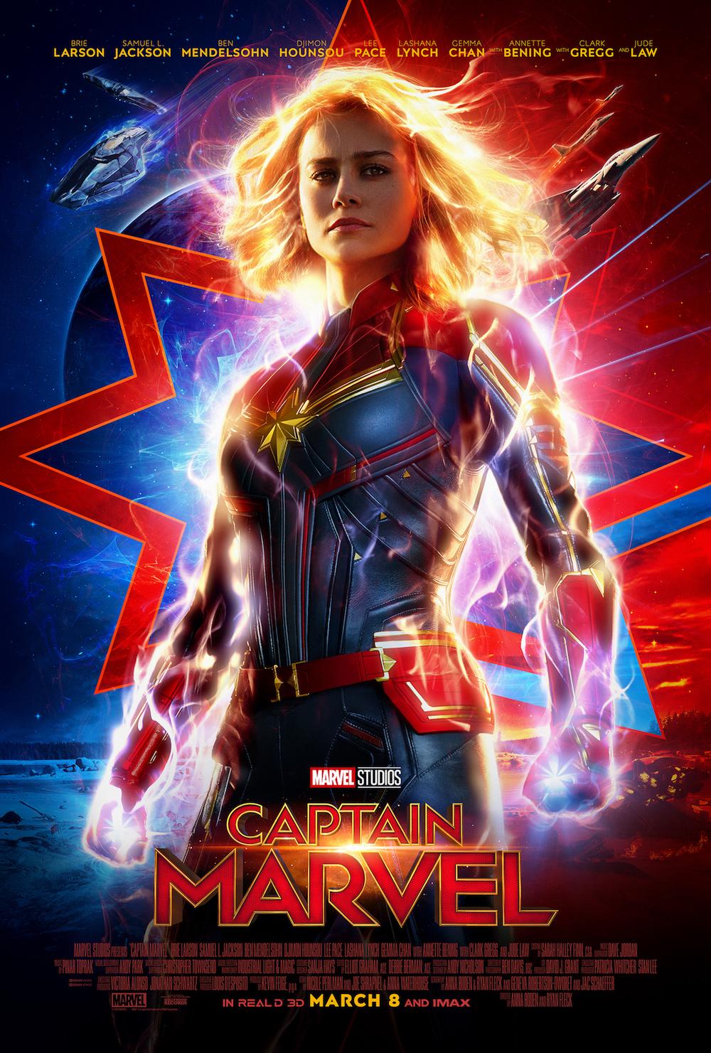 Brie-Larson-Captain-Marvel-Poster