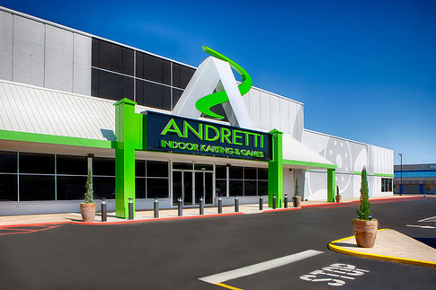 Andretti Indoor Karting and Games_Commercial_Architecture_Real Estate Phot