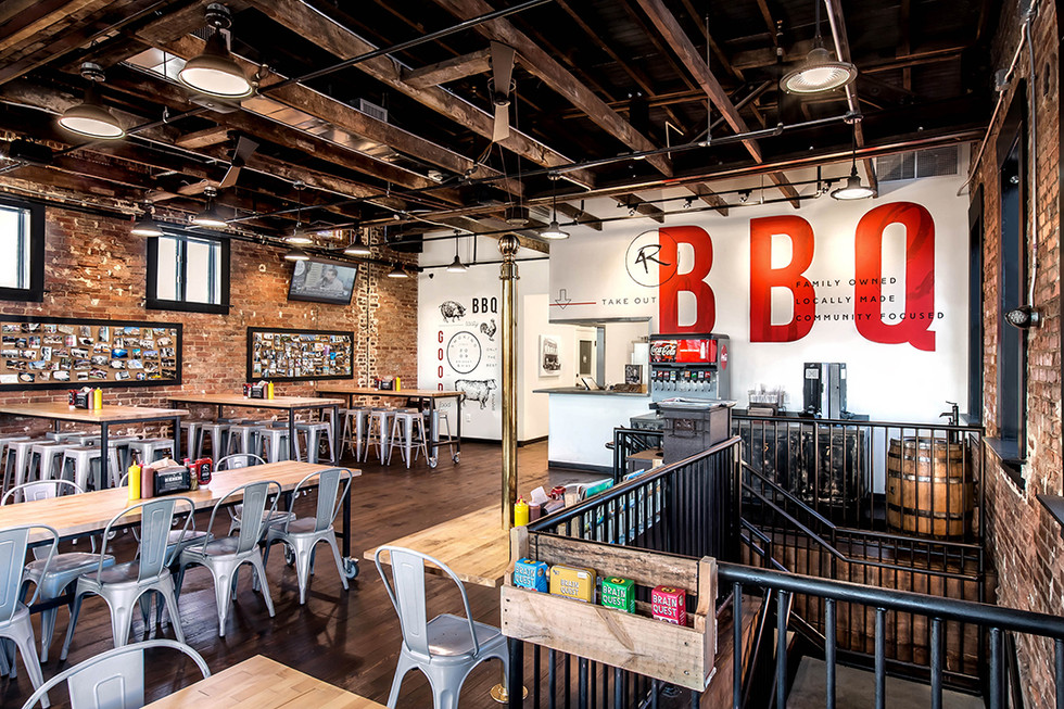 4'R BBQ_Commercial_Architecture_Real Estate Phot