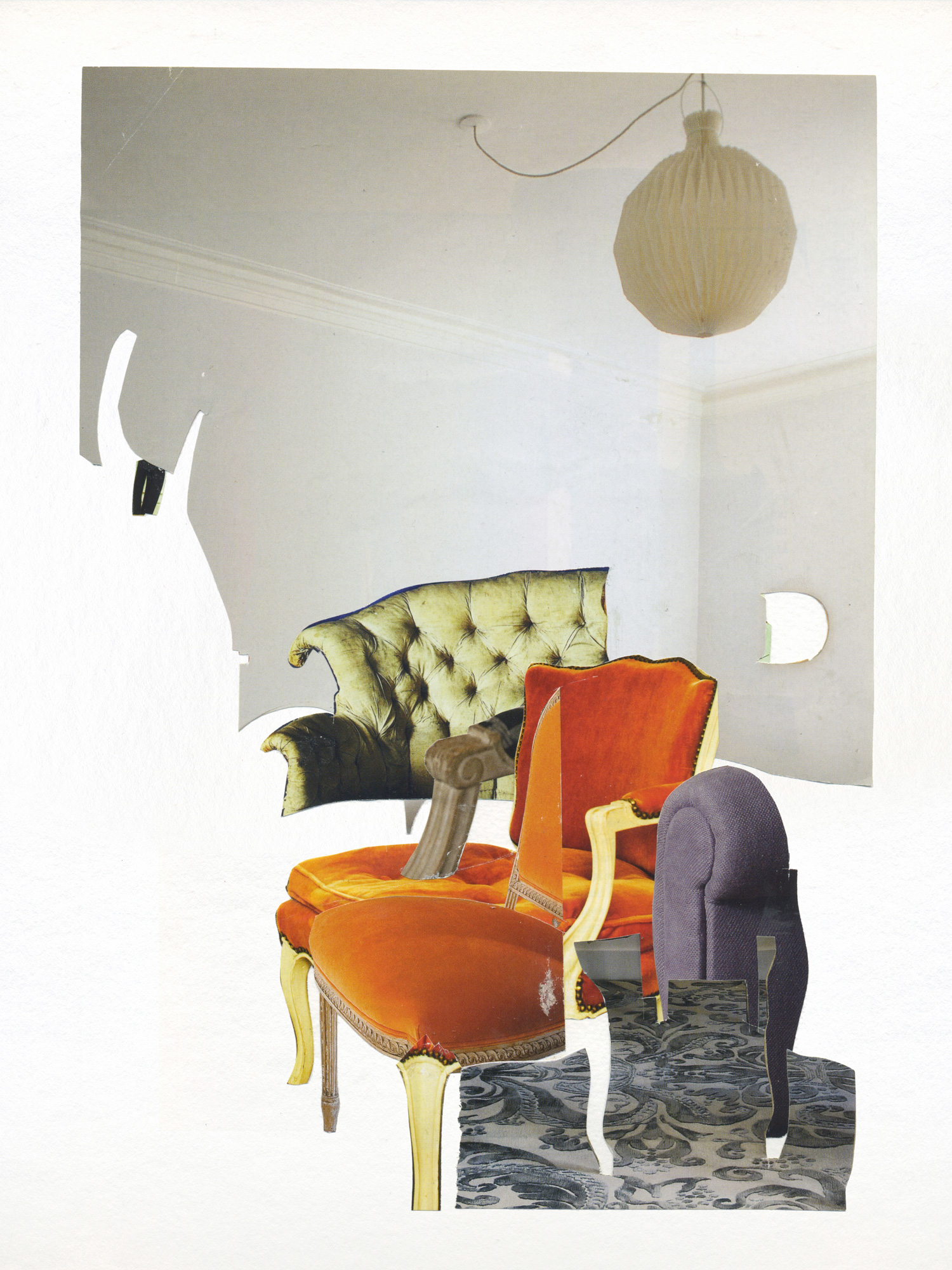 """Orange armchair"""