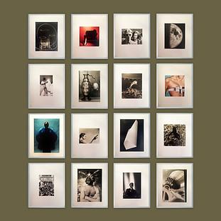 Colección de 16 fotografías de  arquitectura, moda, espectáculo y bodegones.  Hector Pascual, Paul Slade, Larry Graff, R. Jean Chapuis, Louis Peltier, Etienne Béothy, André Villiers, W. Watson, entre otros. Revelados originales