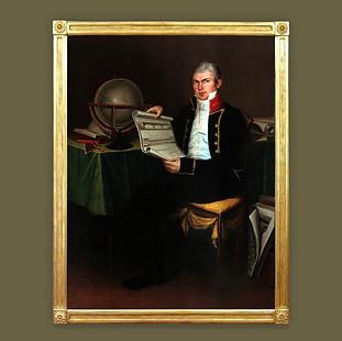 Retrato del Ingeniero de la Inspección de Caminos, Mateo del Castillo.