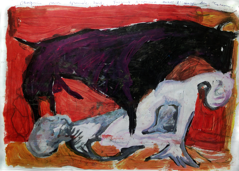 Pasiphae y el Toro