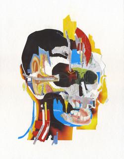 """""""Pain anatomy"""" (Basquiat tribute)"""