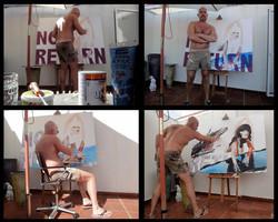 "Making of ""NO RETURN"""