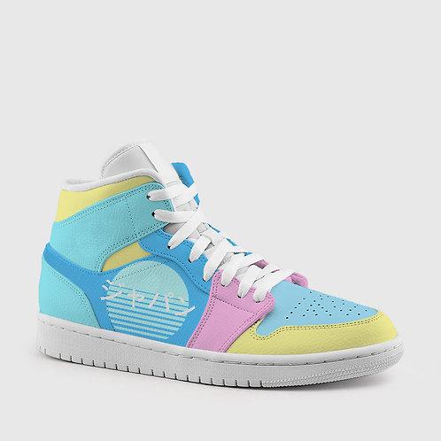 """Aesthetica Rising"" Hightop Sneakers"