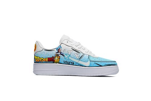 """""""Vegeta Super"""" Custom Lowtop Sneakers"""