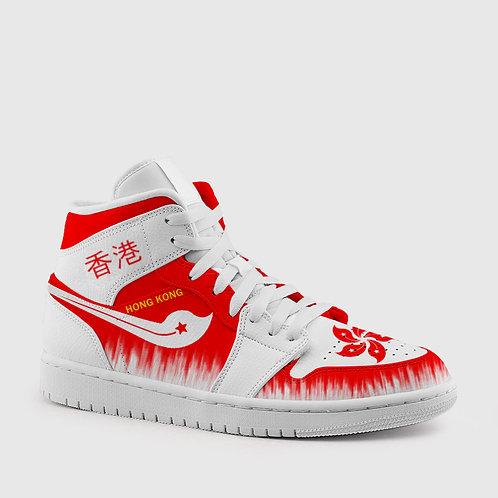 """HONG KONG"" Hightop Sneakers"