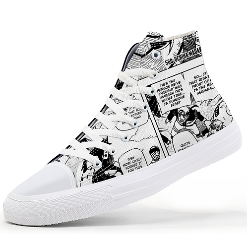 Madara Manga Canvas Sneakers
