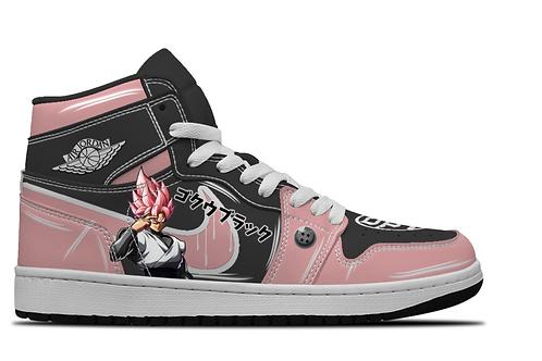 Goku Black Custom Hightop Sneakers