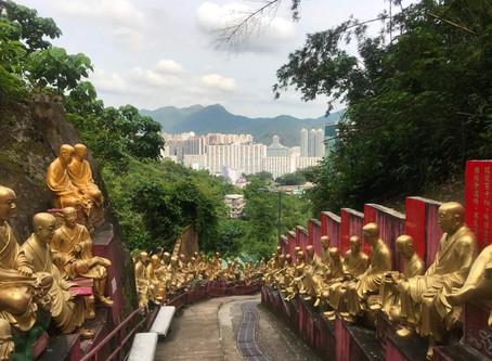 Świątynia 10 tysięcy Budd w Hong Kongu