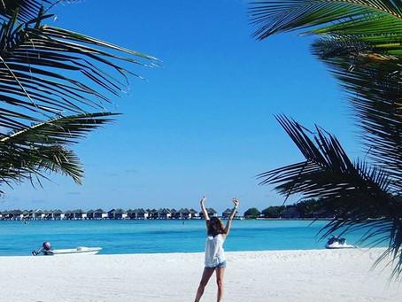 Wakacje w kolorze light blue cynamonem pachnące - Maledives